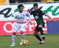 DANILO - Süper Lig Açıklaması T.M. Akhisarspor Açıklaması 0 - Antalyaspor Açıklaması 1 (İlk Yarı)
