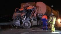 HADıMKÖY - TEM'de Zincirleme Kaza Açıklaması 2 Yaralı
