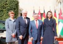 FRANK WALTER STEINMEIER - Ürdün Kralı II. Abdullah, Almanya Cumhurbaşkanı Steinmeier İle Bir Araya Geldi