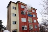 Yozgat'ta 5 Katlı Binada Çıkan Yangın Korkuttu
