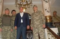 KİLİS VALİSİ - Afrin Operasyonunu Yöneten Korgeneral Temel'den Kilis Valiliğine Ziyaret