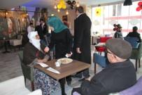 YUSUF YıLMAZ - Başkan Berge'den Kafe Açılışı