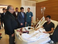 FATİH DOĞAN - Başkan Kutlu'dan Hastalara Ziyaret