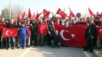 BELEDİYE ÇALIŞANI - Belediye Çalışanları 'Zeytin Dalı' İçin Gönüllü Oldu