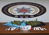 HEDİYELİK EŞYA - Denizli'de Uyuşturucudan 3 Tutuklama