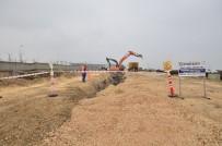 GAZİ YAŞARGİL - DİSKİ 22 Kilometre Kanalizasyon Şebekesi Döşüyor