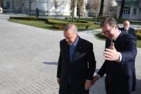 SIRBİSTAN CUMHURBAŞKANI - Erdoğan, Sırbistan Cumhurbaşkanı Vuçiç İle Görüşüyor