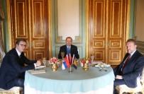 SIRBİSTAN CUMHURBAŞKANI - Erdoğan, Sırbistan Cumhurbaşkanı Vuçiç İle Öğle Yemeği Yedi