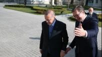 SIRBİSTAN CUMHURBAŞKANI - Erdoğan Sırp Mevkidaşıyla Görüşüyor