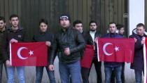 TIFLIS - Gürcistan'da Zeytin Dalı Harekatı'na Destek Gösterisi