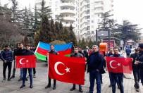 TIFLIS - Gürcistan'da Zeytin Dalı Harekatı'na Destek Mitingi