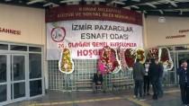 ARBEDE - İzmir Pazarcılar Odası Kongresinde Arbede