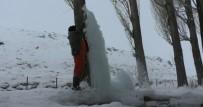 BUZ KÜTLESİ - Kars Buz Kesti