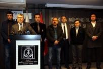 TÜRK MÜHENDİS - Makine Mühendisleri Odası Kayseri Şubesi'nden TBB Ve TMMOB'ye Afrin Tepkisi