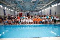TÜRKİYE YÜZME FEDERASYONU - Minikler Ata Yüzme Şenliğinde Kulaç Attı