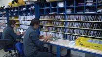 SELIMIYE - Sınırda 'Posta Değişim' Mesaisi
