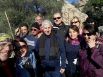 KÜLTÜR ŞÖLENİ - Sökeli Doğaseverler Bafa Gölü Ve Latmos'un Keyfini Çıkardı