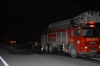 GÜRBULAK - Ağrı'da Seyir Halinde Olan Otomobil Alev Aldı
