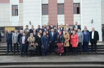 İLÇE SEÇİM KURULU - AK Parti Düzce İl Yönetimi Mazbatasını Aldı