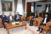 AK Parti Genel Başkan Yardımcısı Karacan, Vali Aktaş'ı Ziyaret Etti