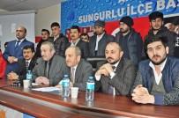 Ak Parti Sungurlu Danışma Meclisi Toplantısı Yapıldı