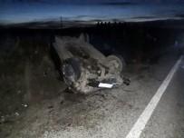 Aksaray'da İki Otomobil Çarpıştı Açıklaması 2 Ölü, 6 Yaralı