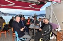 İSTANBUL BEŞİKTAŞ - Başkan Karahanlı'dan Başkan Hazinedar'a Ziyaret