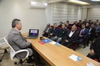 TALAS BELEDIYESI - Başkan Palancıoğlu Eğitim-Bir Sen Üyeleriyle Buluştu