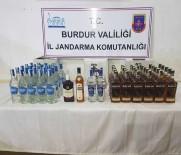 KAÇAK ŞARAP - Burdur'da Kaçak İçki Ve Tarihi Eser Operasyonu
