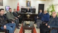 GÜNEŞ ENERJİSİ - Burhaniye'de Kaymakam Öner, Yurt Dışına Gidecek Usta Ve Çırakları Kabul Etti