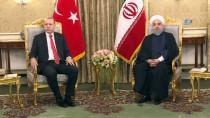 İRAN CUMHURBAŞKANı - Cumhurbaşkanı Erdoğan, İran Cumhurbaşkanı Ruhani İle Telefonda Görüştü