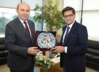 KIMYA - Hindistan İstanbul Başkonsolosu Azar Khan BTSO'da