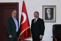 İSMAİL KARAKULLUKÇU - Hulusi Şentürk'ten Başkan Karakullukçu'ya Ziyaret