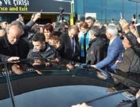 ARAÇ KONVOYU - Meral Akşener'in konvoyunda kaza
