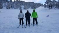 TERMAL TURİZM - Muratdağı Termal Kayak Merkezi'nde Kayak Sezonu Açıldı