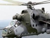 YILBAŞI GECESİ - Rus helikopteri düştü: Pilotlar öldü