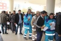 KARAKÖPRÜ - Şanlıurfa'da Taşeron İşçilerin 'Kadro Evrakları' Kuyruğu