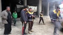 EKMEK FIRINI - Suriye'de Hastane Ve Fırın Vuruldu