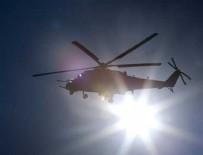TEKNİK ARIZA - Suriye'de Rusya'ya ait helikopter düştü!