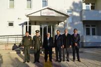 Vali Şentürk, Askerlik Şubesi Başkanı Harun Ağaç'ı  Ziyaret Etti