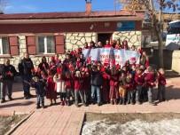 SAĞLIKLI BESLENME - Yakutiye Gençlik Merkezi'nden Köy Okullarında Çocuklarla  'Değerler Eğitimi Ve Kitap Söyleşileri'