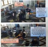 ADLİYE BİNASI - Adliyede Hırsızlık Yaptı, Güvenlik Kamerasına Takıldı