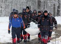 SOĞUCAK - AFAD Ekiplerine Zorlu Kış Şartları Da Engel Olamıyor