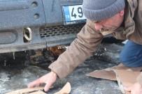 SIBIRYA - Ağrı Eksi 18'İ Gördü Araçların Mazot Depoları Dondu