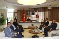 AK Parti Kozaklı İlçe Teşkilatı Rektör Bağlı'yı Ziyaret Etti