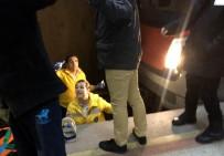 BILKENT - Ankara Metrosunda Raylara Düşen Genç Kız Kurtarıldı