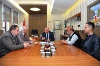 SEMT PAZARLARı - Başkan Eşkinat, Tekirdağ Pazarcılar Odası Yönetim Kurulu Üyelerini Ağırladı