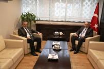 ÇAYKUR Genel Müdürü Sütlüoğlu'ndan Vali Doğanay'a Ziyaret