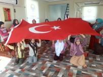 Hani'deki Kur'an Kursu Öğrencilerinden Mehmetçiğe Zeytin Dalı Desteği