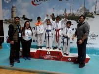 KıZ KULESI - Karate 34 Süper Liginden Bigalı Karateciler Madalyalarla Döndü